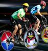 LED Programmable Wheel Light Monkey Light Bike