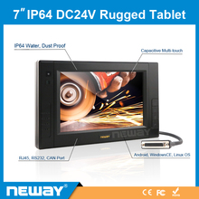 RS232 support Android system Capacitive Multi touch car tablet pc
