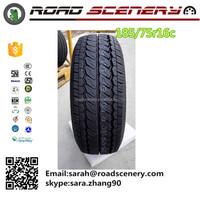 Habilead brand passenger car tire 185/75R16C for commercial vans and light light trucks