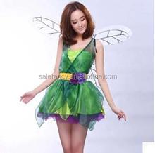 Adult adult pink fairy costume fairy princess carnival costume QAWC-2591