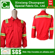 cheap price fluorescent washing 100 times color fastness 4-5 grade warm reflective work jacket