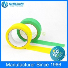 Hot sale single sided green masking tape for painting