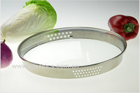 G type tempered glass lid for cookware