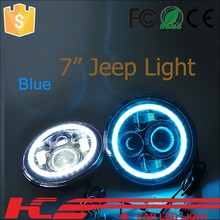7 inch round jeep headlights led Headlight Assembly for jeep tyre Off Road