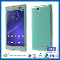 C&T Crystal Gel Skin TPU Case Cover for Sony Xperia C5 Ultra Android Smartphone Cell Phone