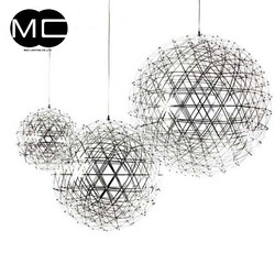 wholesale price stainless steel ball silver chandelier lighting