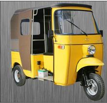 Three wheel passenger auto bajaj rickshaw