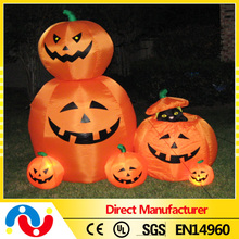 2015 best quality for yard inflatable pumpkin halloween decoration