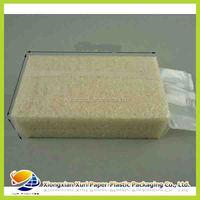 Durable food packing plastic vacuum bag for rice