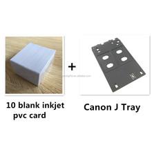PVC de inyección de tinta de tarjetas de identificación Starter Kit - Ca Bandeja J no - MG5430, MX926, MG7170, IP7270