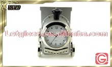 Hot sale zinc alloy Train shaped table design Clock