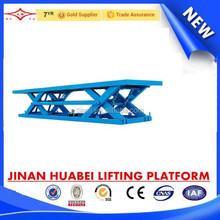 Famous brand fixed hydraulic scissor lifting platform