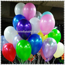 Wedding Decoration Purple and White Balloons