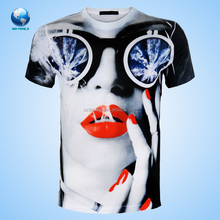 wholesale cheap t shirts Customized&wholesale sublimation 3d printing t shirt & high quality printing t shirt