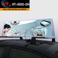 2015 2016 New advertising car taxi led dome light