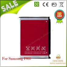 Oem Real Capacity Mobile Phone Battery For Samsung I900