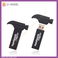lovely hammer shape usb memory drive , tool shaped usb drive