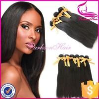 High qaulity straight shoulder length hair styles 14 16 18inch silky relaxed virgin hair peruvian straight hair
