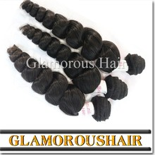 High Quality Wholesale Natural Colour 100% Unprocessed Virgin Peruvian Hair, Peruvian virgin loose wave