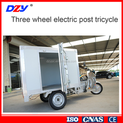 china popular Three wheel electric post tricycle