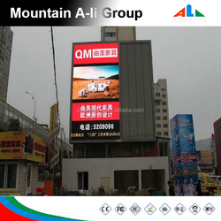 1R1G1B Waterproof Video P10mm Outdoor Full Color Led Display 10000 dot / m2 Pixel