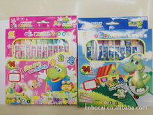 2015 Factory direct sale 24 color crayon oil pastel items of fancy stationery