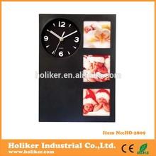 marco de fotos reloj de pared para los regalos promocionales
