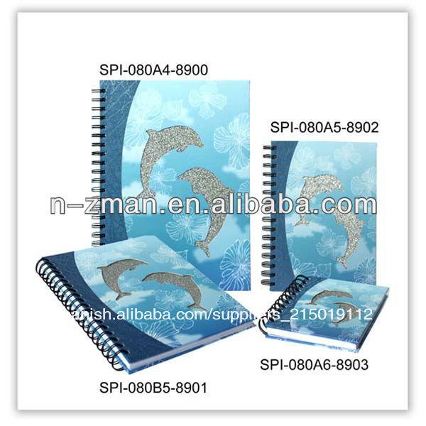 Pvc portátil ejercicio/<span class=keywords><strong>cuaderno</strong></span> diario/<span class=keywords><strong>cuaderno</strong></span> de espiral