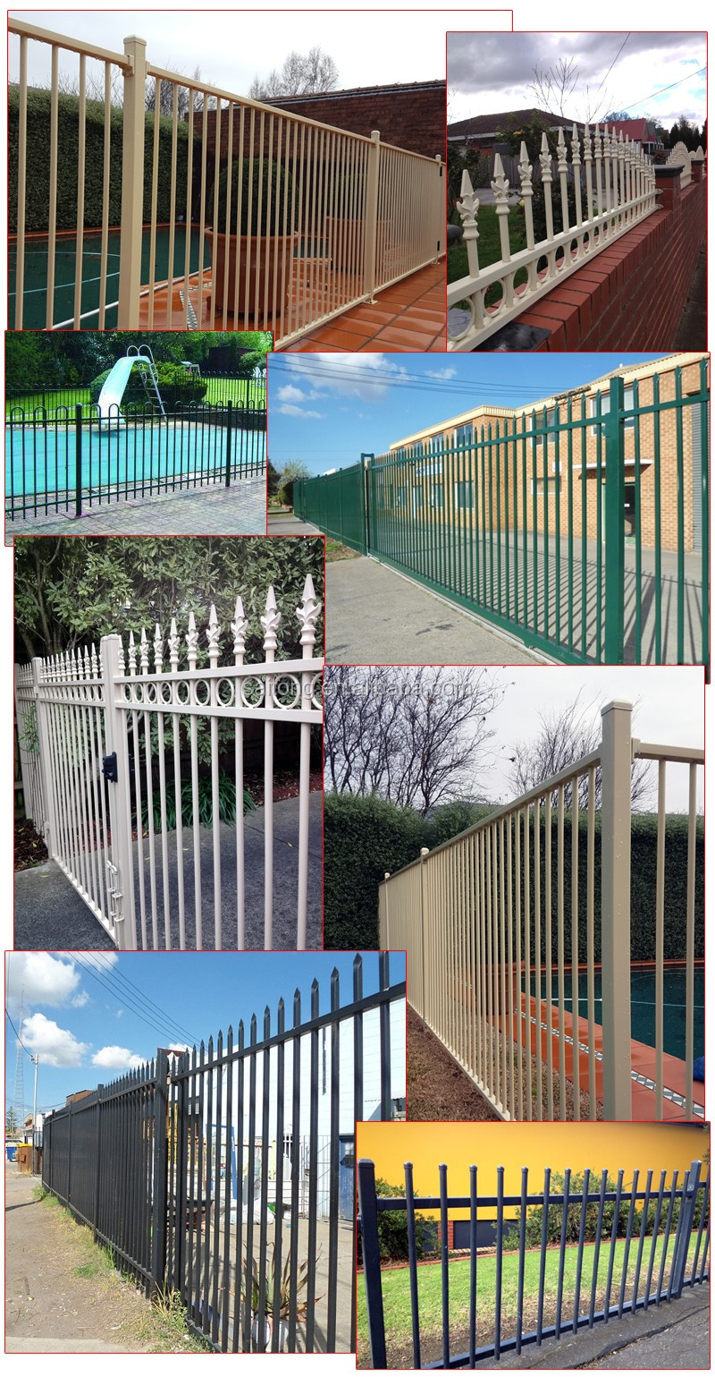 Portail coulissant conception cl ture lance lance top cl ture m tallique lance porte palissade - Cloture metallique design ...