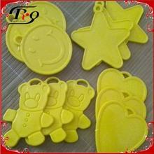 smail,star,heart,bear shape plastic balloon weights