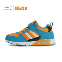 ERKE 2015 kids retro style sneaker with velcro children sprots shoes for wholesale