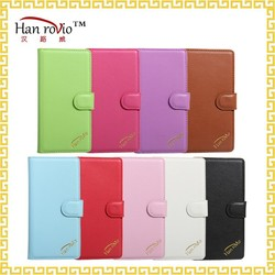 Beautiful fashion design 5 inch flip wallet cover PU leather cell phone case for ZTE Blade L2