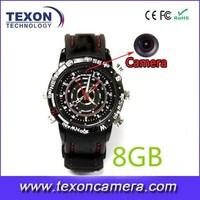 Full HD 1080P Infrared Night Vision mini DVR digital watch camera TE-630B