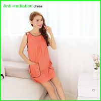 Orange HuiHan Anti-radiation custom size for fashion lady dresses