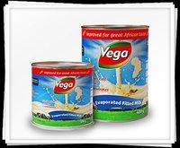 Vega Evaporated Milk