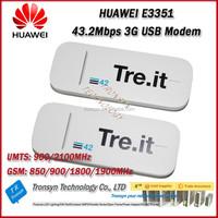 Wholesale Original Unlock DC-HSPA+ 43.2Mbps HUAWEI E3351 3G USB Wireless Modem