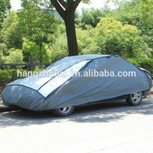 Outdoor car cover hail protection for cars