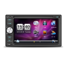 2 Din universal car automobile DVD VCD MP3 MP4 player