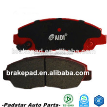 high level market brake for Japan car high quality semi-metallic & ceramic brake pads D465