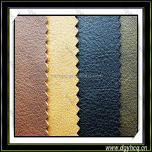 embossed litchi grain flame-retardancy high quality semi pu leather for sofa car interior decortion