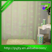 Chinese homemade circle shower curtain products imported from china