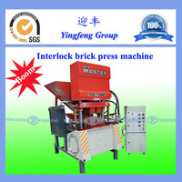 China best quality clay soil interlocking brick making machine ECO7000