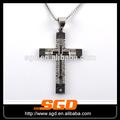Jesús& colgante de acero para hombre colgantes cruz