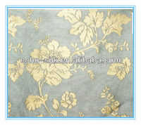 embroidered silk brocade fabric