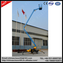 Towable Boom Lift For Sale, Trailer Mounted Boom Lift Truck