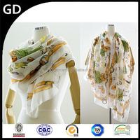 GDB0096 Dollar made in turkey scarf and shawl wholesale new fashion lady scarf rack