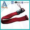 Custlomized adjustable luggage belt integrated scale weight tsa strap