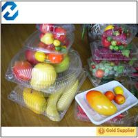 3 compartment plastic salad box