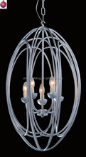 Contracted design style with bar pattern the hollow out shade decorative hotel pendant lamp