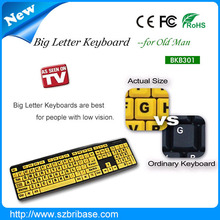 High performance and quality Large letter Keyboard for old man
